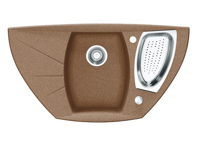 Zlewozmywak Milan MIG 651E 926x510mm cynamonowy 114.0071.505 Franke