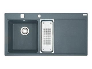 Zlewozmywak Mythos MTG 651 1100x515mm grafitowy komora z lewej 114.0072.757 Franke
