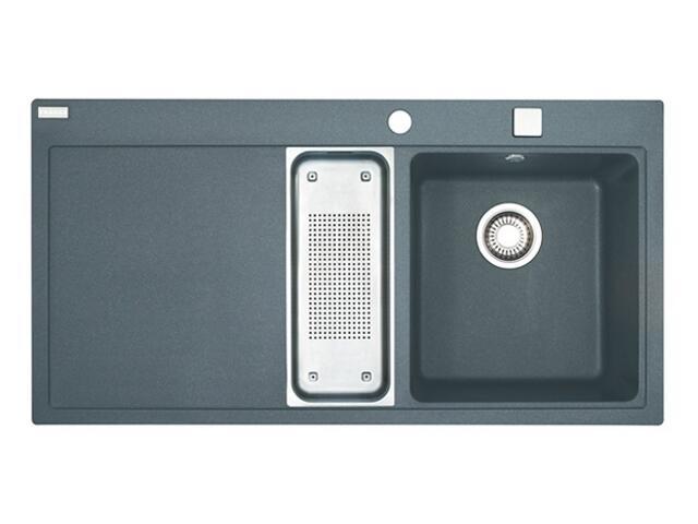 Zlewozmywak Mythos MTG 651 1100x515mm grafitowy komora z prawej 114.0072.758 Franke