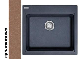 Zlewozmywak FIJI FIG 610-58 584x520mm cynamonowy 114.0073.062 Franke