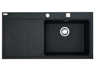 Zlewozmywak Mythos MTG 611 1000x515mm onyx komora z prawej 114.0158.625 Franke
