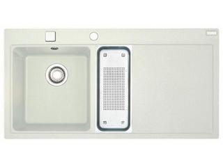 Zlewozmywak Mythos MTG 651-100 1000x515mm biały komora z lewej 114.0158.644 Franke