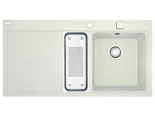 Zlewozmywak Mythos MTG 651-100 1000x515mm biały komora z prawej 114.0158.647 Franke