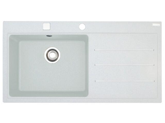 Zlewozmywak Mythos MTF 611 1000x515mm biały komora z lewej 114.0166.998 Franke