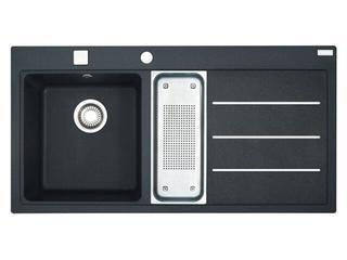 Zlewozmywak Mythos MTF 651 1000x515mm onyx komora z lewej 114.0167.690 Franke