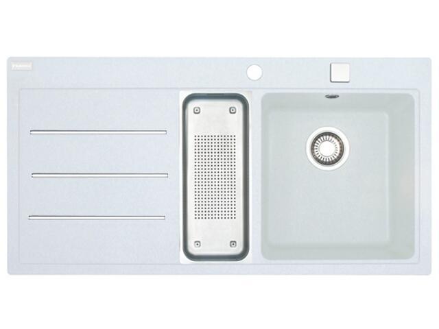 Zlewozmywak Mythos MTF 651 1000x515mm biały komora z prawej 114.0167.782 Franke