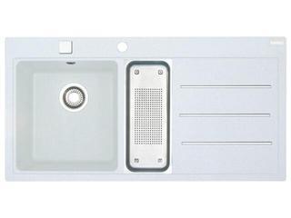 Zlewozmywak Mythos MTF 651 1000x515mm biały komora z lewej 114.0167.783 Franke