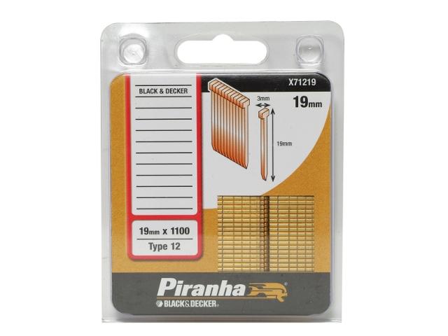 Zszywki 19mm TYP12 Piranha