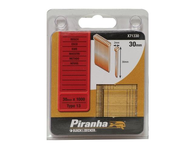 Zszywki 30mm TYP13 Piranha