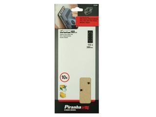 Arkusze ścierne 115x280mm P60 10szt. X31020 Piranha