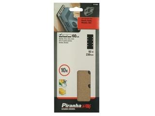 Arkusze ścierne 93x230mm P60 10szt. X31080 Piranha