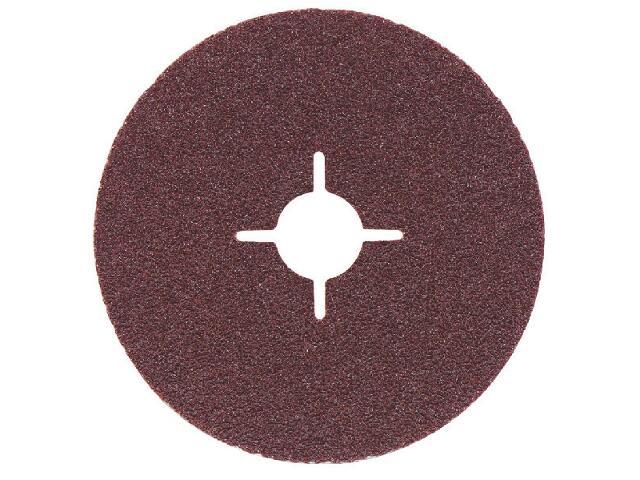 Krążek ścierny fibrowy 125x22,2mm P80 Metabo