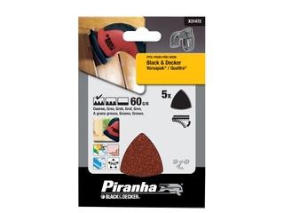 Papier ścierny P60 5szt. X31472 Piranha
