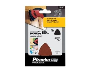 Papier ścierny P180 5szt. X31487 Piranha