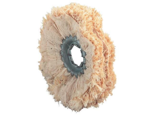 Zestaw 5 impregnowanych pierścieni polerskich SISAL 100x15 Metabo