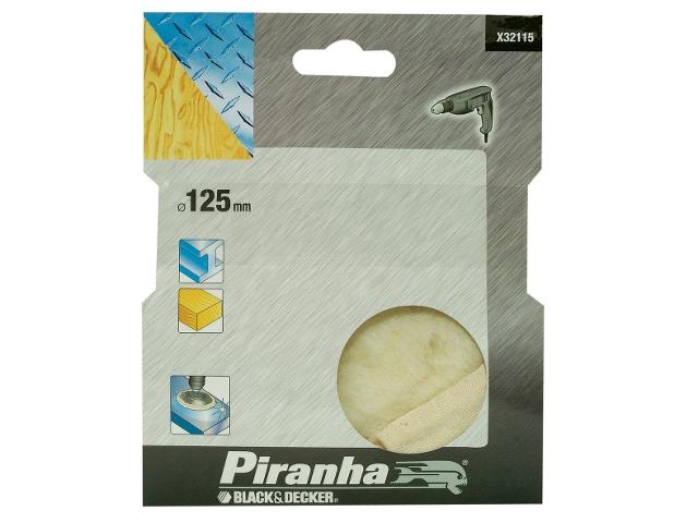 Futerko polerskie 125mm X32115 Piranha
