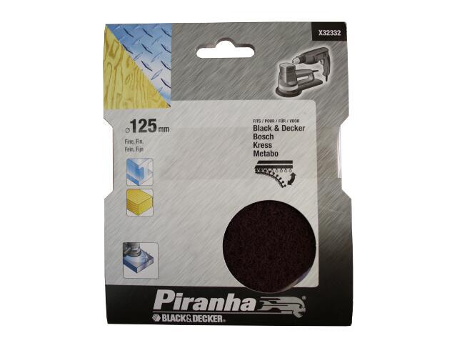 Tarcza polerska nylon 125mm wykańczająca Piranha