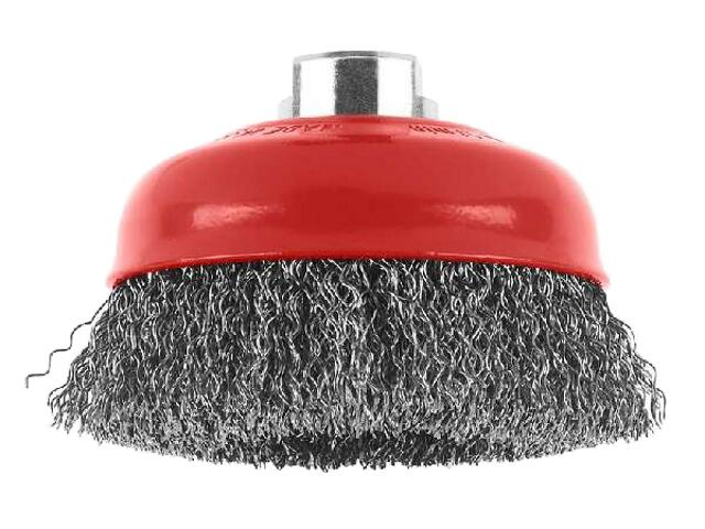 Szczotka druciana garnkowa z gwintem D100mm 1608614011 Bosch