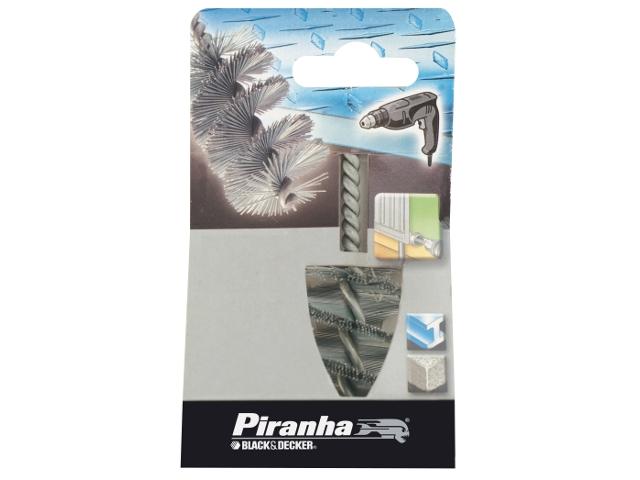 Szczotka druciana 38x55x200 długi drut spiralny Piranha