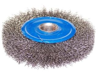 Szczotka druciana do szlifierek stołowych 115mm DeWALT