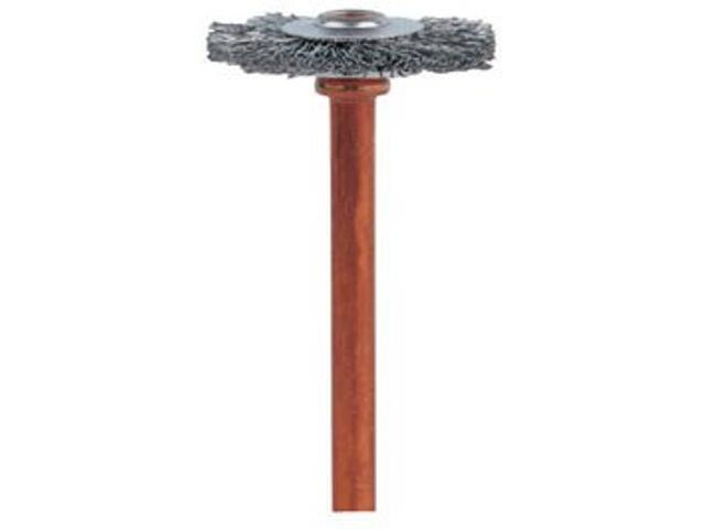 Szczotka druciana ze stali nierdz. 19,0mm Dremel
