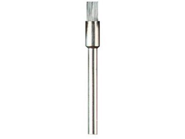 Szczotka druciana polerska ze stali zwykłej 3,2mm-3szt. Dremel