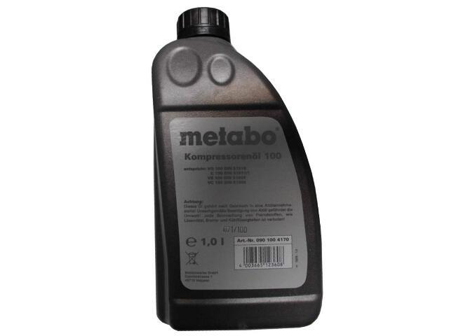 Olej do kompresorów tłokowych 1l Metabo