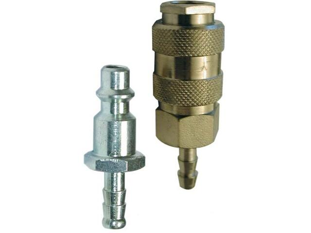 Szybkozłączka do narzędzi pneumatycznych męska/żeńska 8mm Nutool