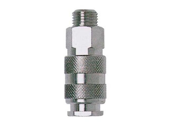 """Szybkozłączka do narzędzi pneumatycznych do kompresora 1/2"""" męska Nutool"""