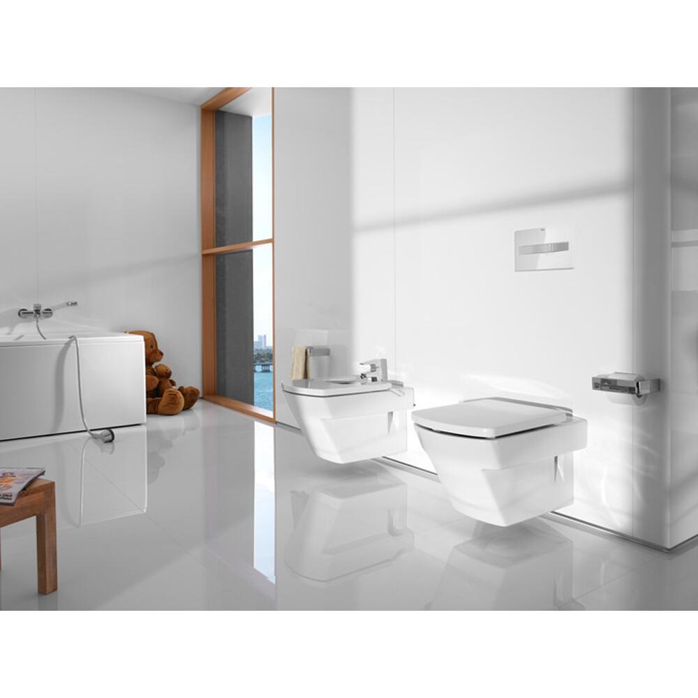 miska wc podwieszana hall compacto a346627000 roca. Black Bedroom Furniture Sets. Home Design Ideas