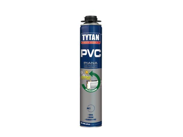 Piana pistoletowa wielosezonowa do PVC 750ml Tytan