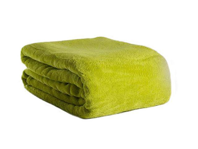 Koc Solo 220x200cm zielony Domarex