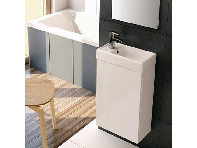 Szafka z umywalką w zestawie YOUNG White 163068 Elita
