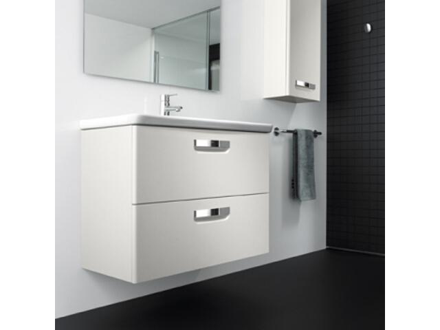Szafka z umywalką w zestawie GAP 80 biała A855712576 Roca