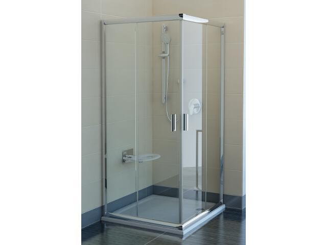 Kabina prysznicowa kwadratowa BLIX BLRV-90 szkło transparentne X1LV70C00Z1 Ravak