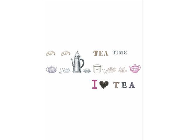 Naklejka dekoracyjna HIT DECOR nr 7 I Love Tea/P PRIMACOL