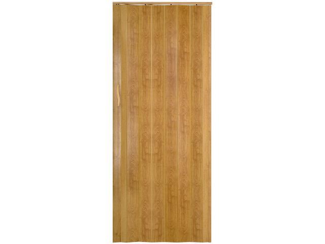 Drzwi harmonijkowe ST4 jasny dąb 135cm Standom
