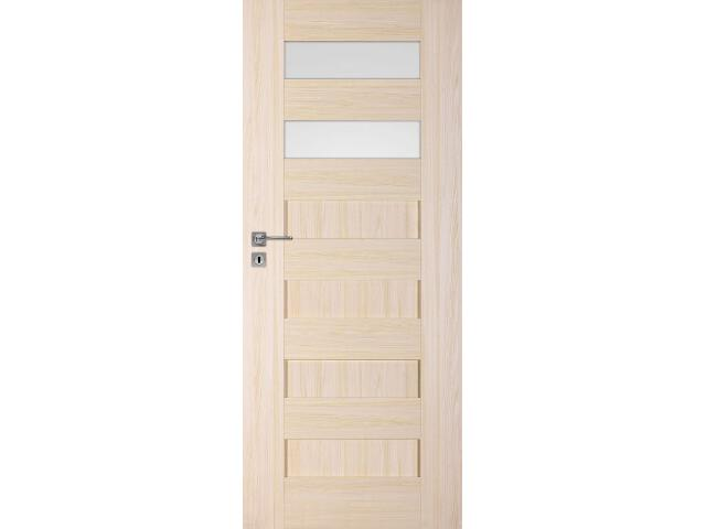 Drzwi okleinowane Scala A2 jesion 70 lewe blokada wc DRE