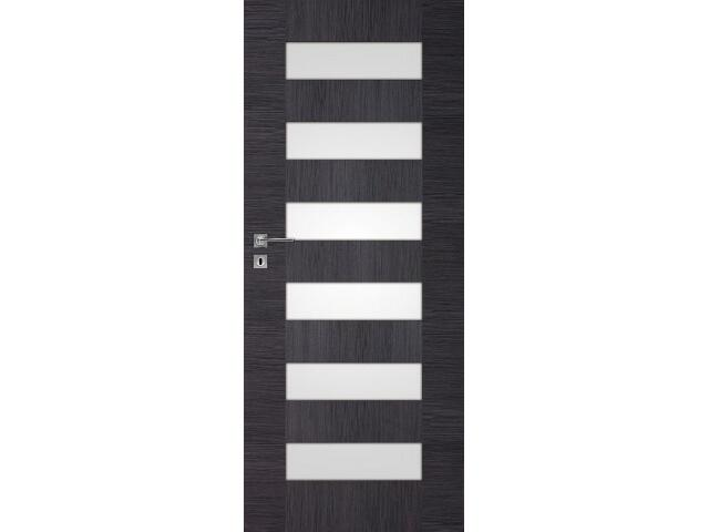 Drzwi okleinowane Scala dąb szary ryfla 80 lewe zamek oszczędnościowy DRE
