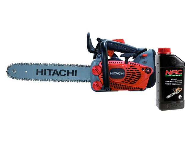 Pilarka łańcuchowa spalinowa CS33EDT-NA 1,8KM Hitachi + olej do łańcuchów