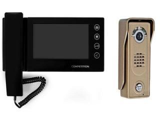"""Videodomofon kolorowy 7"""" LCD głośnomówiący panoramiczny MT270C-CK2+SAC5C-CK Competition"""