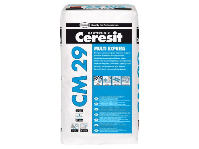 Zaprawa klejowa elastyczna do płytek Ceresit CM 29 Multi Express 25kg