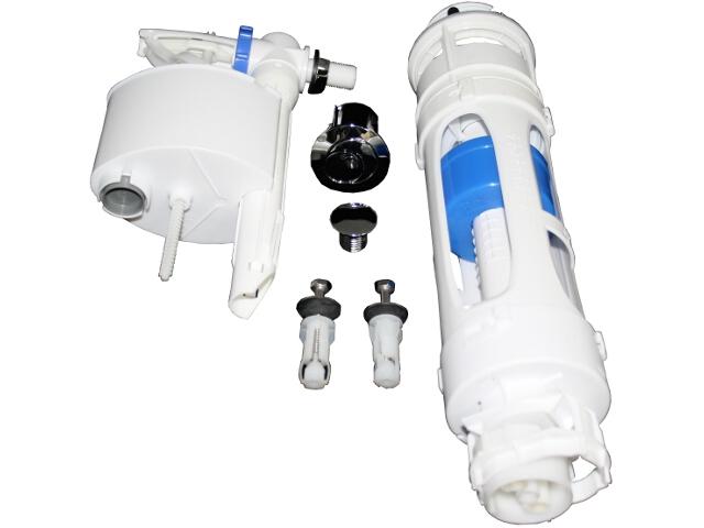 Mechanizm kompletny 3/6L do zbiorników WC z serii DAMA SENSO COMPACTO & SQUARE A822854001 Roca