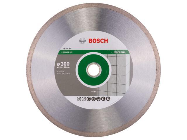 Diamentowa tarcza tnąca D 300 x 30 mm CER, 2608602639 Bosch