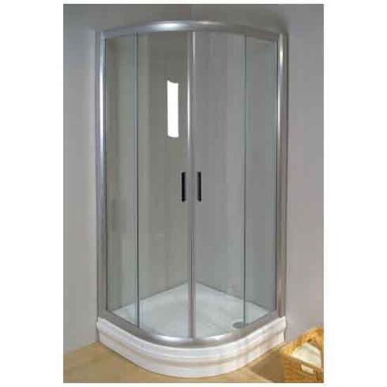 Kabina prysznicowa półokrągła RAPIER NRKCP4-90 szkło transparentne 3L370U00Y1 Ravak