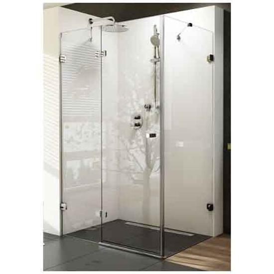 Elementy szklane kabiny prysznicowej BRILLIANT BSDPS-90/90 lewej 0UL77A00Z1 Ravak