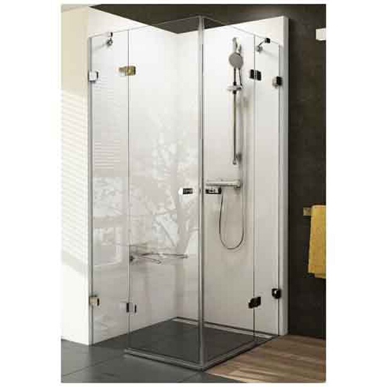 Elementy szklane kabiny prysznicowej BRILLIANT BSRV4-90 1UV77A00Z1 Ravak