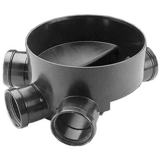 Kineta kanalizacyjna PP zew. typ2 425x160 dopływ prawy/lewy Wavin