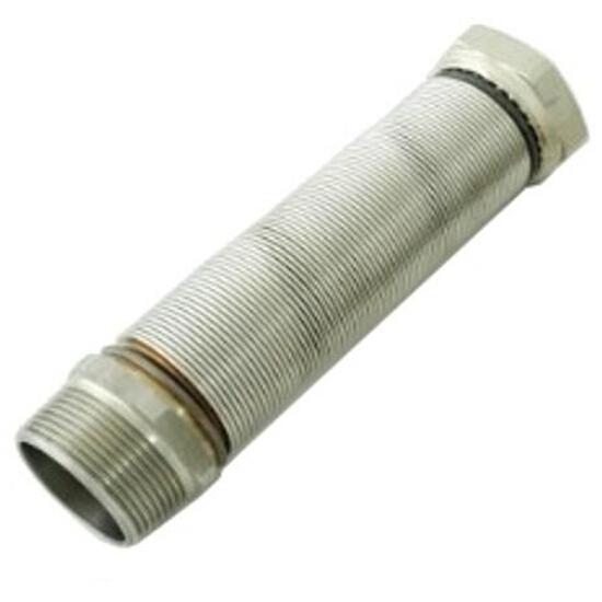 """Wąż elastyczny instalacyjny INOXESTENS 1 1/4"""" MF-FG (110-210 mm) ze st. nierdz. do wody Bisan"""