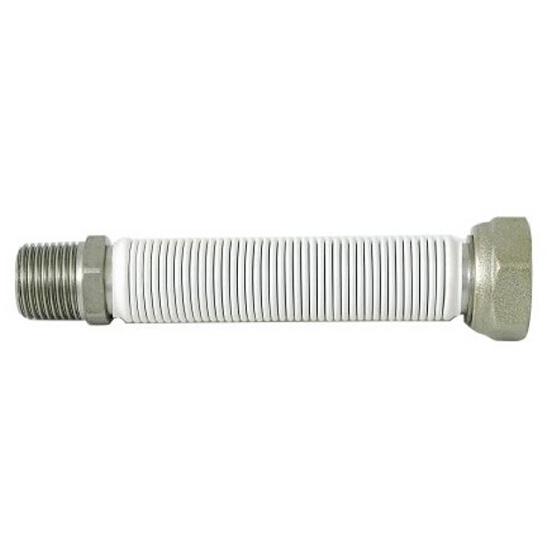 """Wąż elastyczny instalacyjny EMICASA 1/2"""" MF-FG (1000-2000 mm) ze st. nierdz. do wody Bisan"""